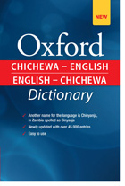 Chichewa English Dictionary Project